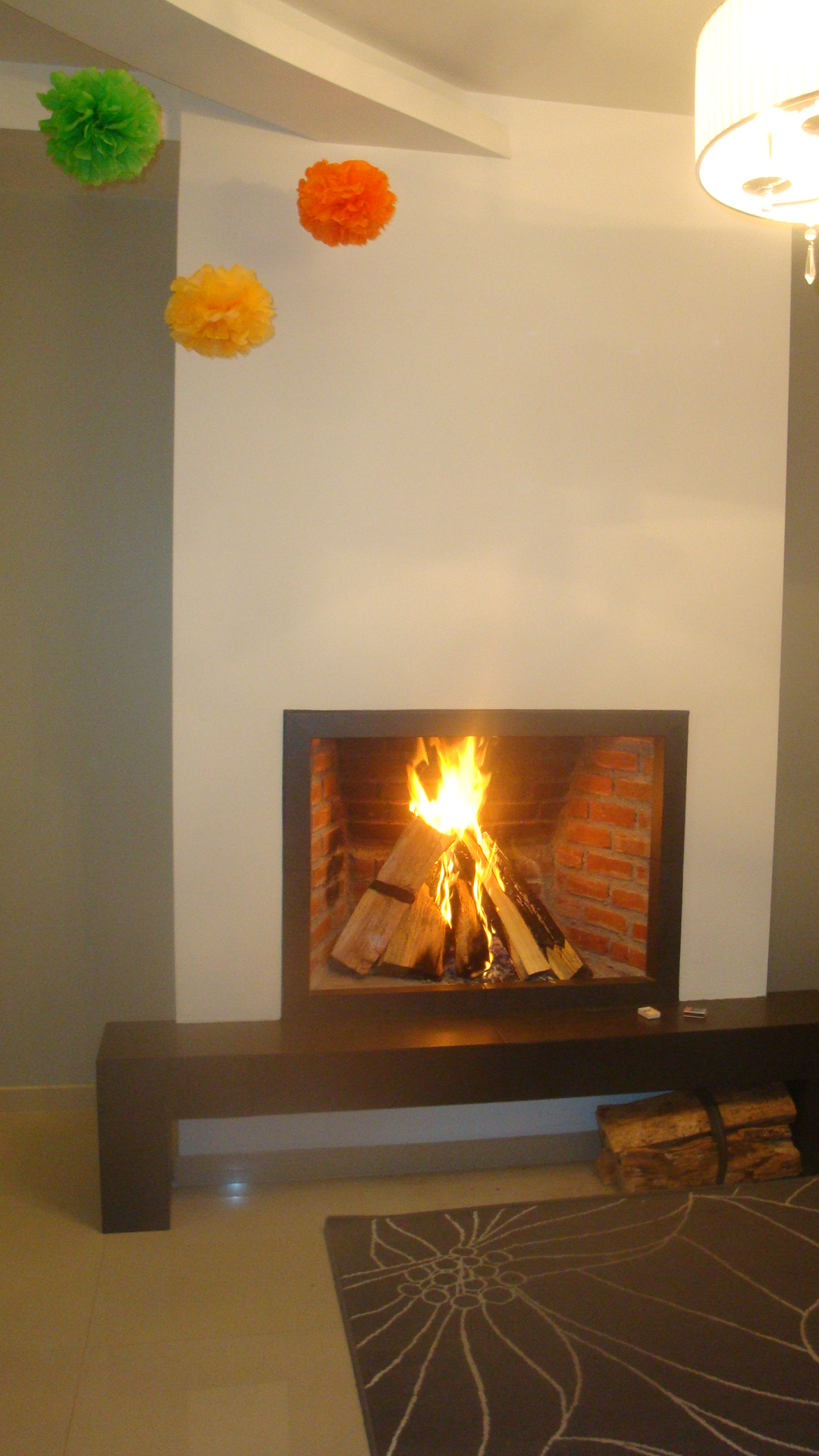 Chimenea ensenada chimeneas baja for Chimeneas lena modernas