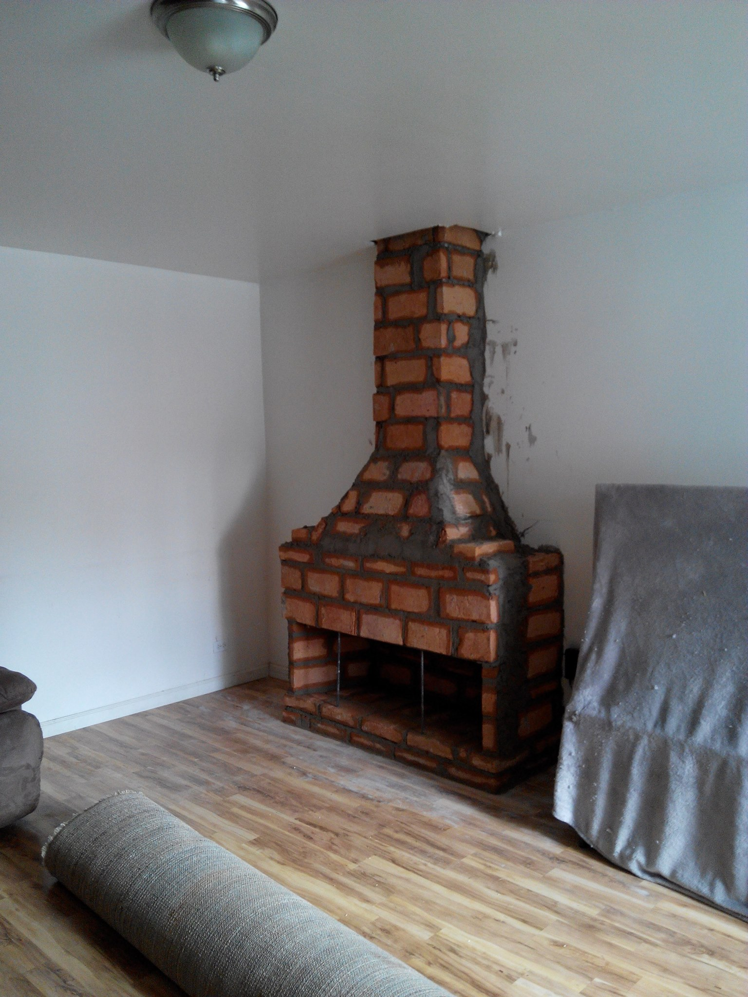 Chimeneasbaja chimeneas baja p gina 4 - Como hacer una chimenea de obra ...
